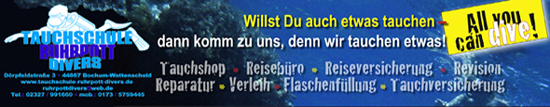 Ruhrpott Divers Online Shop